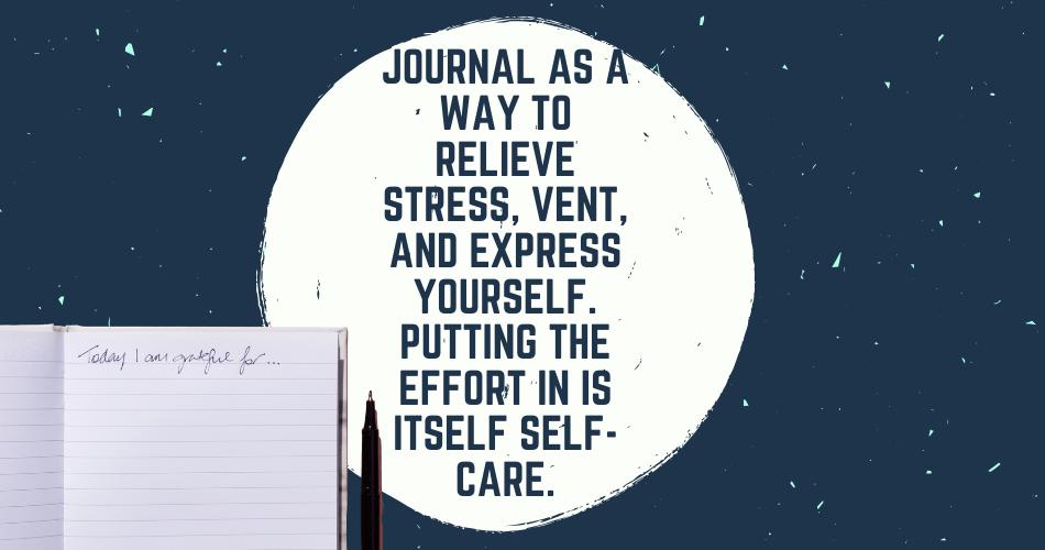 self care guide journaling